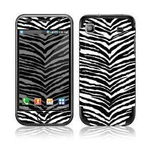 Black Zebra Skin Decorative Skin Cover Decal Sticker for