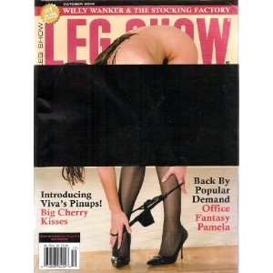 LEG SHOW MAGAZINE OCTOBER 2009: LEG SHOW: Books