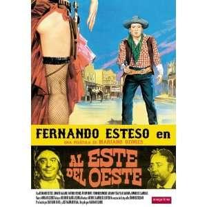 Al este del oeste Movie Poster (11 x 17 Inches   28cm x 44cm) (1984