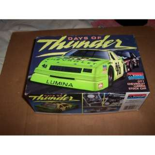 Days of Thunder City Chevy Lumina Stock Car Model Kit  Toys & Games
