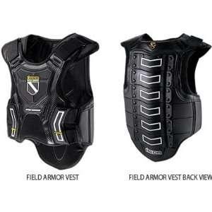 Icon Field Armor Vest   X Large/Black Automotive