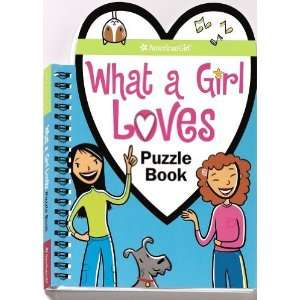 What a Girl Loves Puzzle Book (American Girl) (American Girl Library