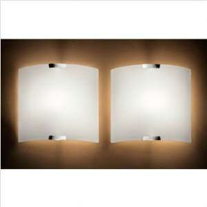 MuranoLuce Big Wall Sconce in White Home Improvement