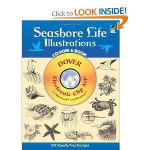 Life Illustrations (Dover Electronic Clip Art Series) (Book and CD ROM
