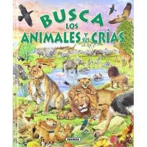 Busca los animales y sus crías (9788430546800) Francisco