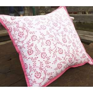 Sweet Nothings Decorative Throw Pillow Cover (Pink)