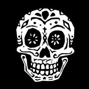 Day Of The Dead Skull 2 Pin