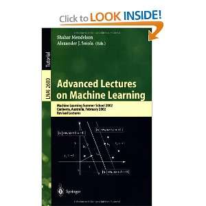 : Machine Learning Summer School 2002, Canberra, Australia, February