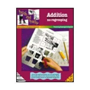 Addition No Regrouping, Featuring Endangered Species (Puzzles and