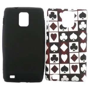 Samsung i997 i 997 Infuse 4G 4 G White Red Heart Spade