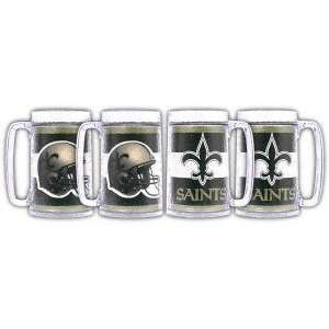 New Orleans Saints 16oz Steins (set of four)  Sports