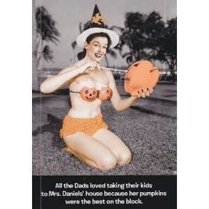 Greeting Card Halloween All the dads loved taking their kids to Mrs