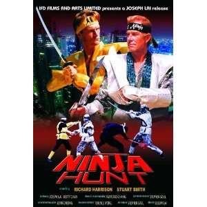 Ninja Hunt Movie Poster (11 x 17 Inches   28cm x 44cm) (1986) Hong