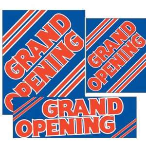 Grand Opening   14pc Big Format Sign Kit