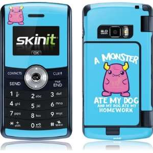 Skinit A Monster Ate My Homework Vinyl Skin for LG enV3