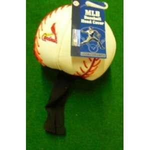 Sport Ball Golf Head Cover St Louis Cardinals 460cc