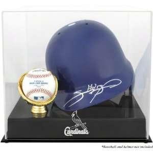Mounted Memories St. Louis Cardinals Batting Helmet And