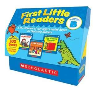 SCHOLASTIC TEACHING RESOURCES LEVEL B FIRST LITTLE READERS