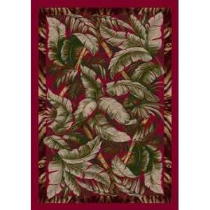 Milliken Signature Jungle Fever  Ruby Area Rug 78 x 109