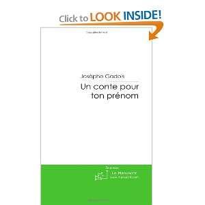 un conte pour ton prénom (9782748180701): Josèphe Gadois