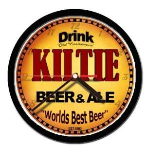 KILTIE beer and ale cerveza wall clock: Everything Else