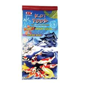 Hai Feng Koi Food Bright color with shrimp meat. 11lb bag