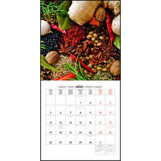 Kitchen Spices 2012 Wall Calendar   CALENDARS