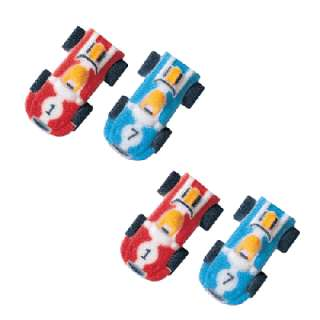 Race Cars Dec ons® Sugar Decoration(s) 4 Assorted Made of Sugar 2