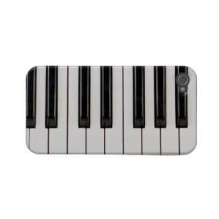 Black and White Piano Keyboard Case Cover Case mate Iphone 4 Cases by
