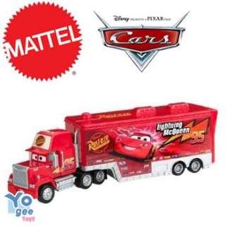 MATTEL Disney Pixar Cars Truck & Trailer Mack Hauler
