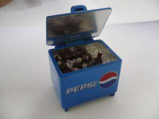 PEPSI COOLER ICE CHEST Dollhouse Miniatures Drink Soda