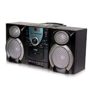 Coby Micro Shelf System Top Loading CD Player AM/FM Stereo Receiver