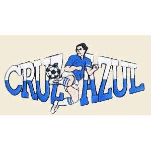 Soccer Cruz Azul Logo Embroidered Iron on or Sew on Patch