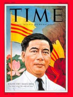Ngo Dinh Diem Time/Life Cover by TIME Magazine at Barewalls