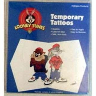Wholesale Looney Tunes Taz Bugs Bunny Temporary Tattoo (SKU 363539