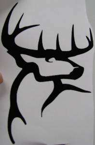 Buck Commander Sticker Decal 5 Any Color you want DEER