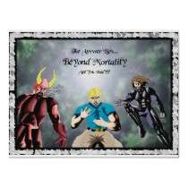 Beyond Mortality: The warriors Poster by livingwordshop