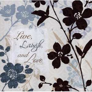 Botanical Touch Quote II   Poster by Lisa Audit (12x12