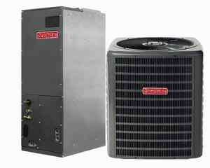 Ton Goodman 15 SEER R 410A Air Conditioner Split System