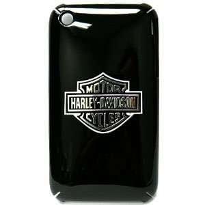 Apple iPhone 3G/3GS Harley Davidson SnapOn Case,Logo on BK