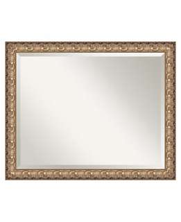 Amanti Art Florentine Gold Wall Mirror, Extra Large   Home Decor