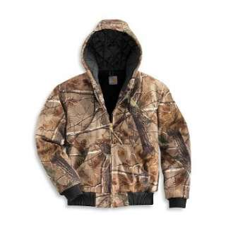 Carhartt Mens Work Camo Active Jacket: Clothing