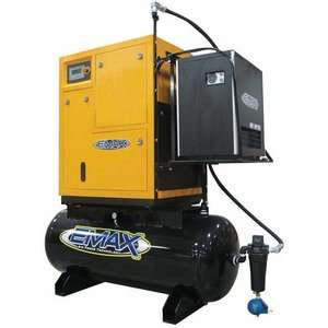 Emax 10 HP 1PH Rotary Screw Air Compressor Package Tools