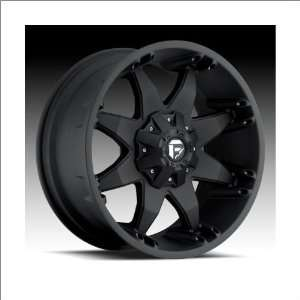 Fuel Octane Black Wheel (17x8.5) Automotive
