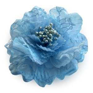 Sara Monica Victorian Lace Flower Hair Clips and Pins Beauty