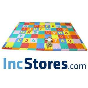 Soft Foam Alphabet ABC 123 Baby Kids Puzzle Play Mat   110
