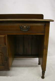 ANTIQUE DRESSING TABLE DESK WASH STAND VICTORIAN MAHOGANY