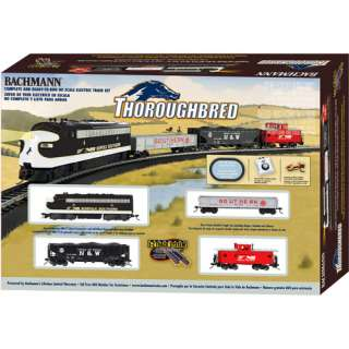 Train Set, Bachmann 00691 HO Scale Thoroughbred Train Set, Bachmann