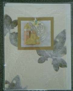 Bethlehem Star Pin Brooche Mailable Note Card HandMade