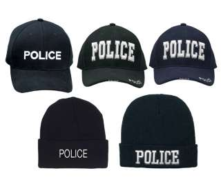 Police Force Adjustable Hat Law Enforcement Officer Cap